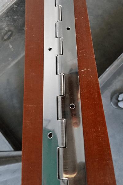6 Fit Long Hinge S S polishing machine manufacturer